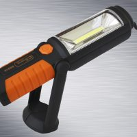 LAMPA 3W+5 LED AKUMULATOR 2000mAh, MAGNES