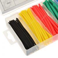 Zestaw rurek termokurczliwych kolorowych 100szt.