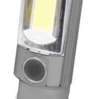 LATARKA ALU. 5W + 1 LED,CHWYTAK TELESKOP. 3xAA,