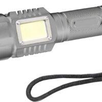 LATARKA ALU. 5W CREE LED + 3W COB LED, 3xAAA, 175M